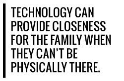 Technology bringing families together