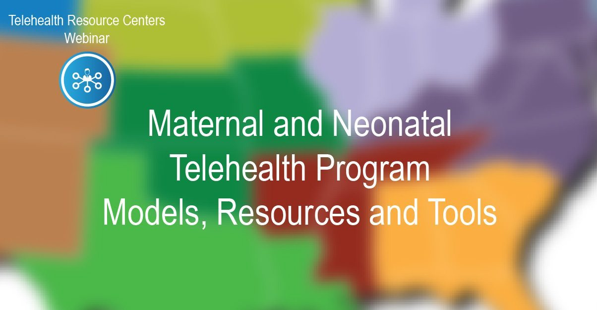 Maternal and neonatal telehealth program-01
