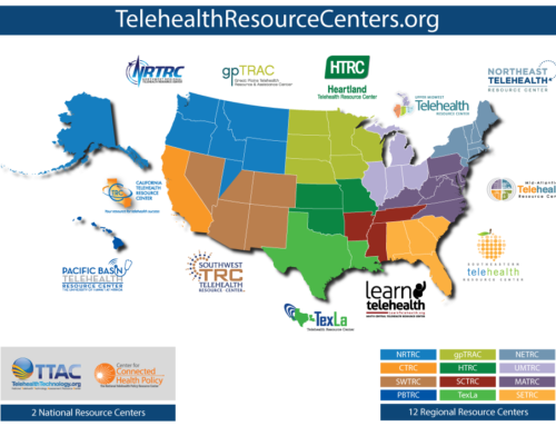 How can the telehealth resource center network assist you?