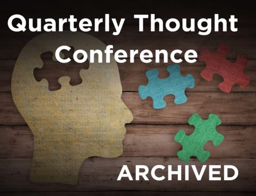 NCTRC Webinar Series/Quarterly Thought Conference ARCHIVED