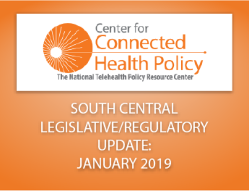 South Central Legislative/Regulatory Update – January 2019