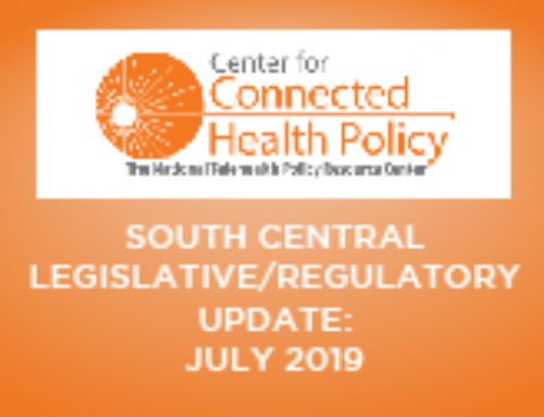 South Central Legislative/Regulatory Update – July 2019