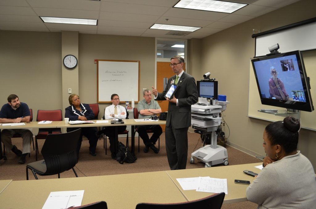 LearnTelehealth and Michael Manley, RNP, at the Helena AHEC