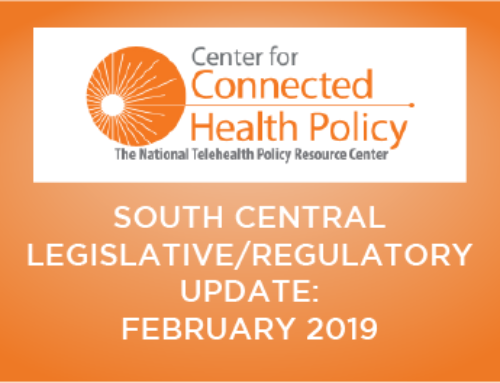 South Central Legislative/Regulatory Update – February 2019